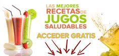 7 recetas de jugos verdes super saludables - Vivi Saludable