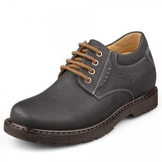 Look for best Fall Korean casual shoes make you taller 8cm / 3.15inches leather height increasing elevator men shoes with the SKU: MENSGL_6121 at Tooutshoes online store