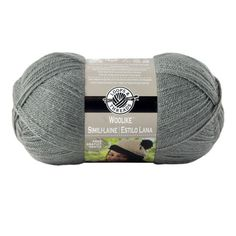 """<div><div>This yarn has the feel, warmth and look of wool but at a great savings over wool. With...  Michaels Store  Fine #1 Weight Category  8 Sts to 1"""""""