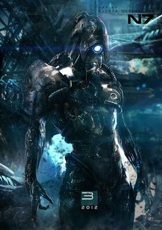 fantastic-bestiary: Mass Effect - Legion