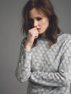 Genevieve Sweeney Knitwear campaign and look book Photography by me Model: Charlotte de Carle Make-up & Hair: Zoe Cornwell Book Photography, Knitwear, Charlotte, Hair Makeup, Photoshoot, Photo And Video, Knitting, Stylish, Lady