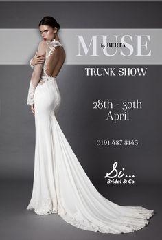 MUSE by BERTA trunk show Gateshead UK! @ Si...Bridal www.sibridal.com #sibridal #berta #musebyberta #bertatrunkshow #gateshead #trunkshow #bride #bridal #weddingdress