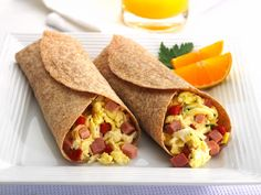 Freybe Rosemary Ham Breakfast Wrap