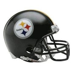 Pittsburgh Steelers Mini Football Helmet is a perfect gift idea for all occasions.It is a beautifully crafted replica of original NFL college football helmet. Pittsburgh Steelers Helmet, Football Helmets For Sale, Pittsburgh Steelers Wallpaper, Steelers Gear, Steelers Football, Pitt Steelers, Pittsburgh Sports, Dallas Cowboys, Steeler Nation