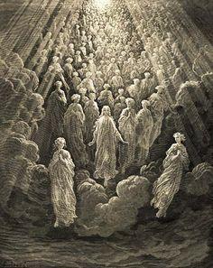 Ilustración: Paraíso, canto V, por Gustave Doré para 'La Divina Comedia' de Dante Alighieri