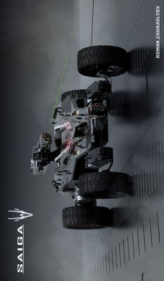 It's kind of a mech well it wheeled think , took a lot of time , but the result is very good! Futuristic Technology, Futuristic Cars, Army Vehicles, Armored Vehicles, Robot Concept Art, Concept Cars, Future Transportation, Starship Concept, Armored Truck