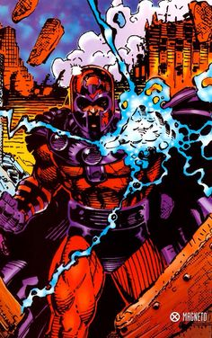 magneto. Jim Lee
