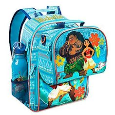 1447c14b278 Moana Backpack and Lunch Tote Collection
