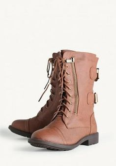 Hidden Road Lace-Up Boots