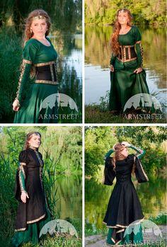 Средневековые платья | Платье в средневековом стиле
