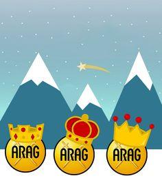"""Los Reyes Magos eligen """"ARAG Viajeros a su Medida"""" http://a.arag.es/1ar3m para entregar todos los regalos sin imprevistos"""