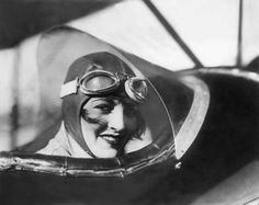 Aviatrix Ruth Elder, March 1929.