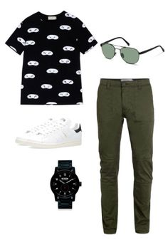 Hit the streets in style with sleek Rodenstock aviator sunglasses. This simple, but cool, outfit idea will have you turning heads.
