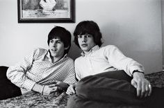The Male Bond - NYTimes.com  Keith and Mick in 1965