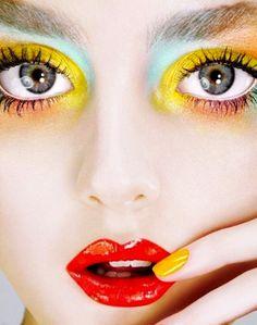 Color-Fashion-LimeCrime-makeup.jpg (550×697)
