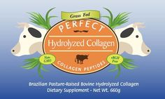 Love this product - It is a unique PURE Hydrolyzed COLLAGEN Protein powder which can be mixed with anything including water (because it has no taste). It's excellent for healthy Skin, Hair, Nails, and Joints! See here http://healthfoodpost.com/pure-hydrolyzed-collagen-supplements/