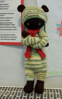 Trotzi Trotzbär,  der I.  Nach der tollen Bina Bär Anleitung von Lalylala.de