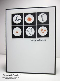 Halloween Holiday Home, PP215 by stampwithsandy - Cards and Paper Crafts at Splitcoaststampers