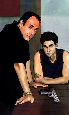 The Sopranos Illustration
