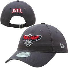 Atlanta Hawks New Era Hawk 9TWENTY Adjustable Hat - Graphite - $21.99