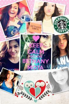 Bethany Mota collage I made. I luff you Betherz!!! :) xx