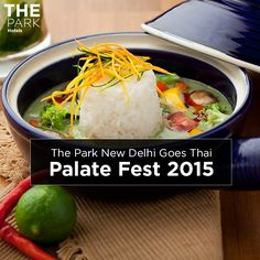 We say Sawadikha, Ni Hao Ma and Konichiwa to Palate Fest 2015 as The Park New Delhi prepares to bring the best of Asian cuisine to the Capital. Find us at PSOI Club, Nehru Park, from November 27 - 29.