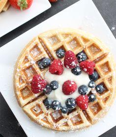 Beignets, Healthy Recipes, Healthy Food, Scones, Donuts, Waffles, Good Food, Sweets, Baking