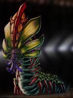 CatarpillarMan, Peter Kneeshaw on ArtStation at https://www.artstation.com/artwork/2kkrY