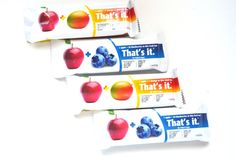 A yummy @ThatsitFruit #giveaway thanks to Amanda from @minutritionist That's It Fruit Bars