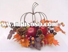 Wire Pumpkin   Idea for large wire pumpkin   holidays   Pinterest