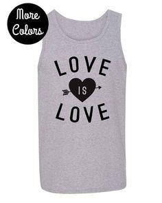 b96bdbfa54c10 Love is Love Mens Tank Top