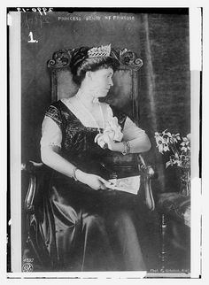 Princess Irene of Hesse and by Rhine (Irene Luise Maria Anna) (11 July 1866 – 11 November 1953) was the third child and third daughter of Princess Alice of the United Kingdom and Ludwig IV, Grand Duke of Hesse and by Rhine. Her maternal grandparents were Queen Victoria of the United Kingdom and Prince Albert. Her paternal grandparents were Prince Charles of Hesse and by Rhine and Princess Elizabeth of Prussia. She was the wife of Prince Albert Wilhelm Heinrich of Prussia, her first cousin.