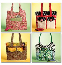 Tote+Bags+Sewing+Pattern+Butterick+5367+uncut+sewing+by+blue510,+$4.00