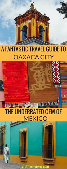Read this off the beaten path Oaxaca city, Mexico travel guide for recommendations on what to do in Oaxaca, Oaxaca hotels and top Oaxaca city attractions and sightseeing tips. This underrated gem and culinary capital of Mexico is a must visit for its architecture, food, art, murals and museums! Mexico travel| Oaxaca city | Oaxaca Mexico | #mexicotravel #mexico #oaxaca