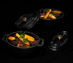 Joues de boeuf à la bière brune et carottes fondantes pour Goûts d'Yvelines