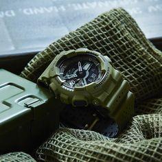 G-Shock Layered Punching Pattern Watch GA-110LP