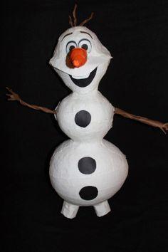 Frozen's Olaf the snowman DIY Pinata!
