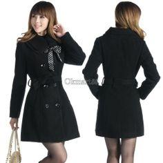 Women's Woolen Warm Winter Luxury Long Coat