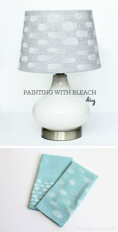 DIY-ify: Painting with Bleach on the Better Homes and Gardens Style Spotters Blog!