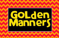 FREE golden manners packet