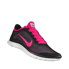 Nike Free 3.0 Shield (Black/White/Pink Foil)