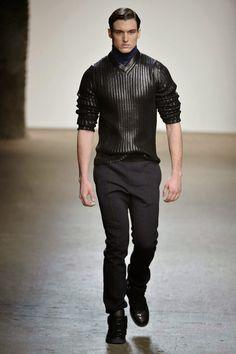 #Menswear #Trends Asaf Ganot Fall Winter 2015 Otoño Invierno #Tendencias #Moda Hombre F.Y!