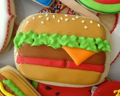 Hamburger Cookie