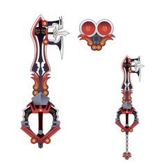 I will prob do more of these idk, look more serious art. Vanitas Kingdom Hearts, Kingdom Hearts Keyblade, Kingdom Hearts Fanart, Kh 3, Kindom Hearts, Weapon Concept Art, Fantasy Weapons, Design Art, Spiderman