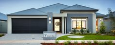 Discover Home Group's newest display homes in Perth. We can help you build your new home with no saving & no guarantor! Display Homes, Garage Doors, New Homes, House Design, Cabin, Architecture, Building, Outdoor Decor, Home Decor