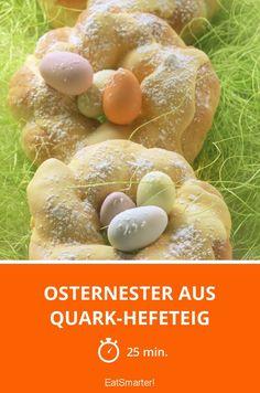 Osternester aus Quark-Hefeteig - smarter - Zeit: 25 Min.   eatsmarter.de