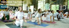A week long practical yoga training infused with cultural events is conducted every year in Rishikesh(The world's capital of yoga) known as International yog festival.