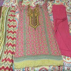 Shalwar kameez dress linen pakistani Shalwar Kameez, Linen Dresses, Pakistani Dresses, Stylish Dresses, Indian, Blanket, Summer Dresses, Crochet, Fashion