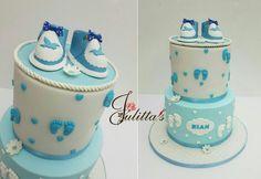 christening cake #itsbakedbyjulitta