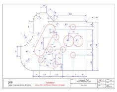 Practica Calificada Geometric Construction, Drawing Practice, Mechanical Engineering, Diagram, Technical Drawings, Art, Dibujo, Cad Drawing, Drawing Techniques